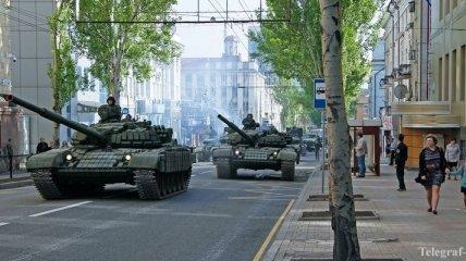 В день выборов в центре Донецка готовится провокация