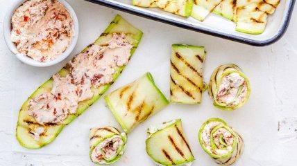 ПП-роллы из кабачков: простой рецепт необычной закуски