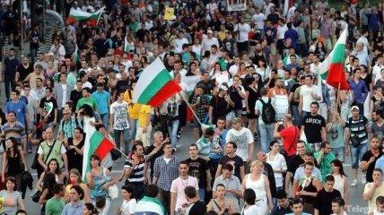 В Болгарии проходят антиправительственные митинги