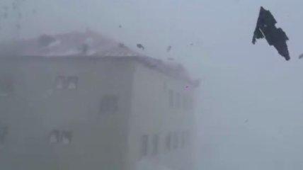 Ураганный ветер сносит крыши: на Чукотке случился погодный апокалипсис (видео)