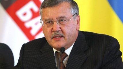 """""""Батькивщина"""" требует, чтобы Анатолий Гриценко сложил мандат"""