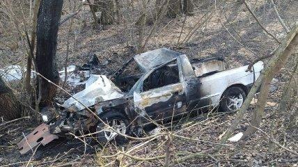 Под Винницей пьяный юноша насмерть сбил детей и сам чуть не сгорел (фото и видео)