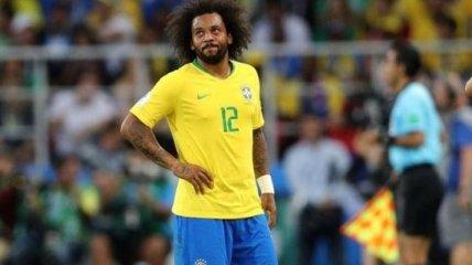 Врач сборной Бразилии обвинил в травме Марсело матрас в отеле