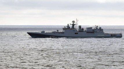Балтийское море: Российский флот проводит военные учения