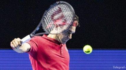 Федерер вышел в финал турнира в Базеле, обыграв Циципаса
