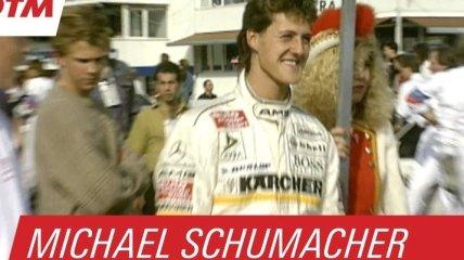 Как Михаэль Шумахер начинал свою гоночную карьеру (Видео)