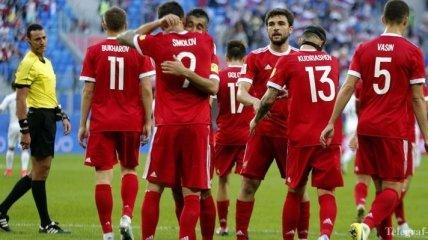Кубок Конфедераций - 2017: Россия одержала легкую победу на старте турнира