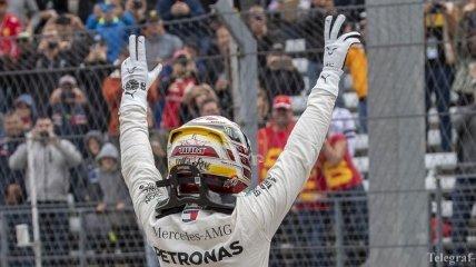 Хэмилтон выиграл квалификацию Гран-при США