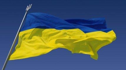 В Донецкой области пьяные подростки пытались сжечь государственный флаг