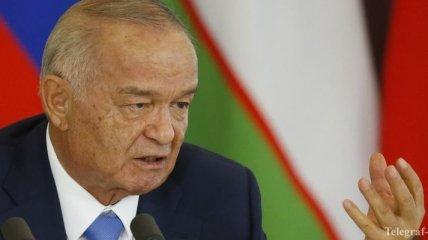 Стала известна причина госпитализации президента Узбекистана Каримова