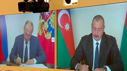 У Путина опубликовали текст соглашения по Карабаху, который сильно отличается от первоначальной версии