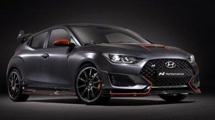 Hyundai готовит обновленный хэтчбек Veloster N (Видео)
