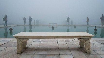 Как выглядят знаменитые туристические места, если развернуть камеру (Фото)