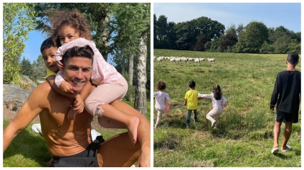 Криштиану Роналду и его дети