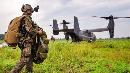 Совместные учения с военными НАТО