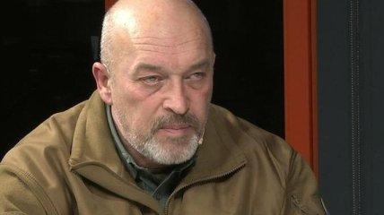 Тука анонсировал открытие нового пункта пропуска на Луганщине