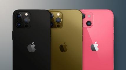 Айфоны получат новые цвета