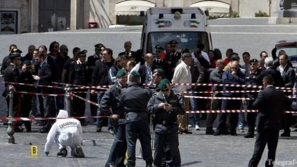 Стрелявшим по карабинерам в Италии оказался психически больной мужчина
