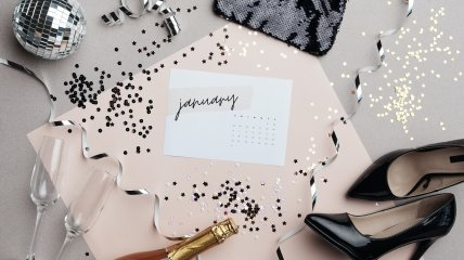 Календарь новогодних праздников 2022
