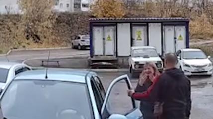 Жінка-водій була шокована своїм же маневром