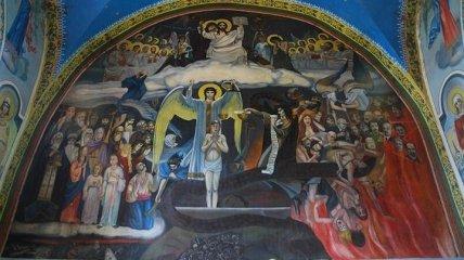 """В церкви в Хмельницкой области """"отправили в ад"""" Ленина, Сталина и Гитлера (фото)"""