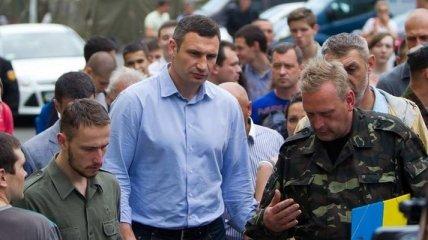 Кличко: Майдан - это не палатки. Это дух, идея...
