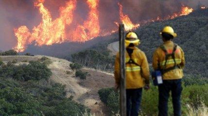 В США масштабные пожары охватили 12 штатов: жителей Калифорнии эвакуируют (фото, видео)