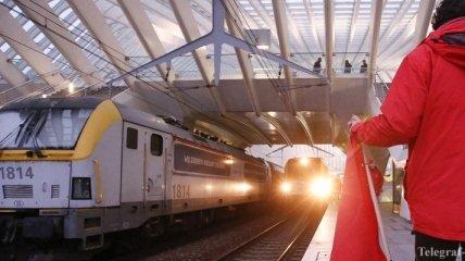В Бельгии из-за забастовки парализовано железнодорожное сообщение