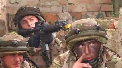 Военных Грузии готовят к совместным операциям с НАТО (Видео)