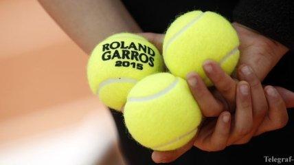 "Эмоции теннисистов на ""Ролан Гаррос"" (Фото)"