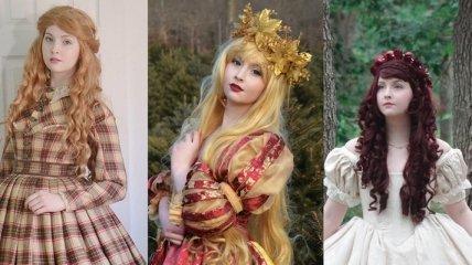 Великолепные сказочные наряды 18-летней художницы (Фото)
