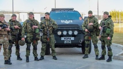 В МВД начинают набор спецназовцев КОРД