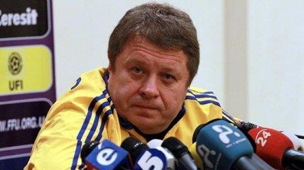 Тренер сборной Украины прокомментировал получение повестки в армию