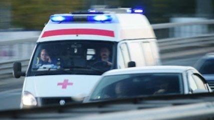 """""""Скорая"""" влетела в микроавтобус в оккупированном Донецке: пациент и фельдшер погибли (фото, видео)"""