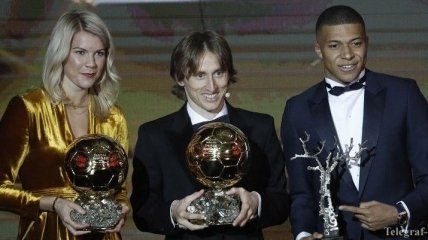 Золотой мяч 2018: как проходила церемония награждения (Фото)