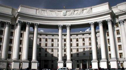 МИД: Украина и Беларусь обсудили вопросы сотрудничества