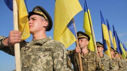 Украинским воинам пожелали богатырского здоровья