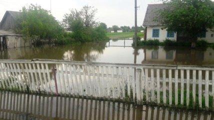 Последствия дождей в Житомирской области: затоплены дома и автодороги