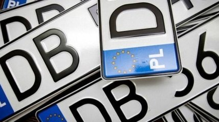 В Украине подготовили законопроект об авто на еврономерах