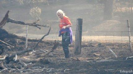 Пожары на юге Австралии уничтожили 11 тыс. гектаров леса