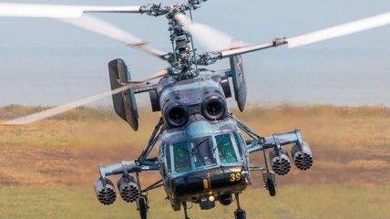 В Балтийском море разбился российский военный вертолет