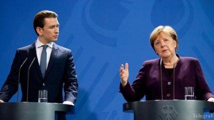 """Меркель и Курц не сошлись во мнениях относительно операции """"София"""""""