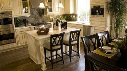 Оригинальные дизайнерские решения для кухни (Фото)