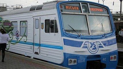 В Киеве отменили несколько рейсов городской электрички