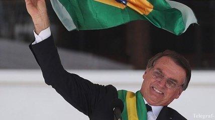 Новый президент Бразилии официально вступил в должность