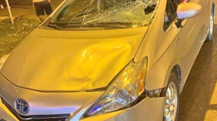 Toyota, сбившая школьника