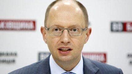 Яценюк: О демократичности выборов речь не идет