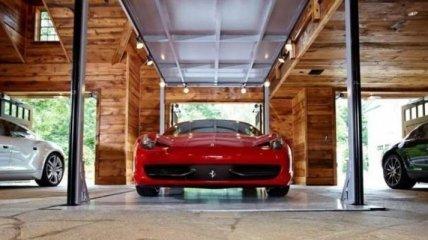 Дом-гараж, в котором хочет жить каждый мужчина (Фото)