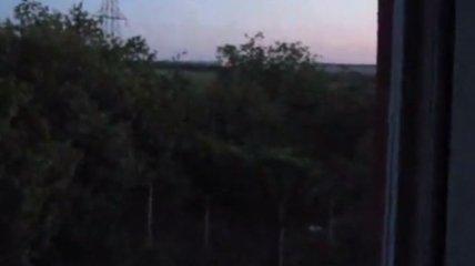 Утро в Луганске началось с выстрелов (Видео)