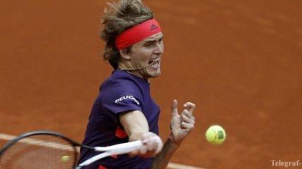 Зверев сенсационно начал турнир в Риме с поражения